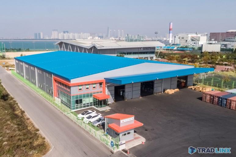 맥스피드 물류 센터 - 인천 신항 물류센터
